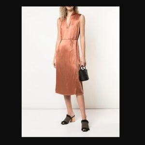 NWOT VINCE Sleeveless Drape Neck Dress